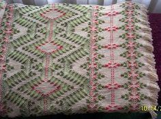 Swedish Weaving Club - Jewel from Diamond Afghans book