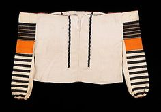 fourth quarter century Culture: European, Eastern Medium: cotton, metal, wool Dimensions: Length at CB: 23 in. Costume Collection, Museum Collection, Sew Your Own Clothes, Ethnic Fashion, Metropolitan Museum, Wearable Art, Print Patterns, Style Me, Women Wear