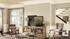 SW - IMG - Inspiration Gallery - Interior Rooms - Living Room SW13041005 hdr WALL: SW6148 wook skein