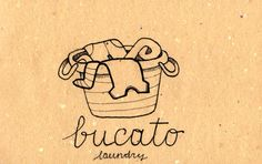 Learning Italian Language ~ bucato - laundry