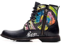 Ringo Starr designs Timberland Earthkeepers boot to benefit WaterAid.