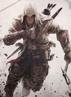 For well over a decade the Assassin's Creed franchise has become a staple of modern gaming. Let's get straight into as we eagle dive deep into the Animus to look at the all of the Assassins of the Assassin's Creed video game series so far Fantasy Male, Fantasy Warrior, Assassin's Creed 3, S4 Wallpaper, Assassin's Creed Wallpaper, Wallpaper Awesome, Assasins Cred, Arte Assassins Creed, Game Of Life