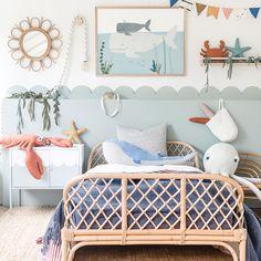 Sea Nursery, Nursery Neutral, Nursery Room, Boy Room, Bedroom Wall, Bedroom Decor, Nursery Decor, Room Girls, Gender Neutral Kids Bedrooms