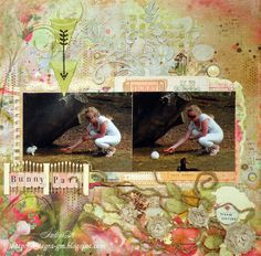 bunny park - Prima - Firefly Collection - 12 x 12 Double Sided Paper - Fireflies Read more at http://www.scrapbook.com/gallery/image/layout/4197787.html#CEbiVI222fsz8wRf.99