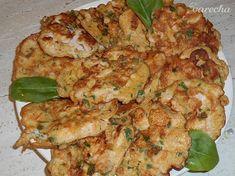 Jogurtové kuracie prsia so špenátom (fotorecept) - recept | Varecha.sk Poultry, Shrimp, Food And Drink, Meat, Red Peppers, Cooking, Backyard Chickens
