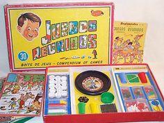 Caja de los Juegos Reunidos Geyper.