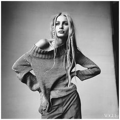 Kirsty Hume by Irving Penn, 1997