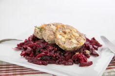 Pohankové knedlíky se zelím z červené řepy Vegetarian Main Course, Beef, Food, Meat, Essen, Meals, Yemek, Eten, Steak