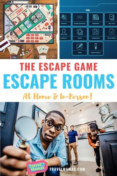 Looking for escape room fun at home or in-person? The Escape Game has got you covered with online play, a board game, and traditional escape rooms in locations throughout the U.S.! Read this review to learn more. #escaperoom #travel #familytravel #athome Traveling With Baby, Travel With Kids, Family Travel, Kids Activities At Home, Travel Activities, Family Vacation Destinations, Cruise Vacation, Travel Toys, Travel Usa