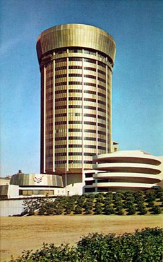 C&S Bank Tower, Atlanta GA. Built 1967 Demolished 1992. Beautiful Midcentury Modern!