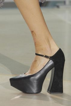 Look 026 shoes at Vivienne Westwood #SS14 Gold Label.