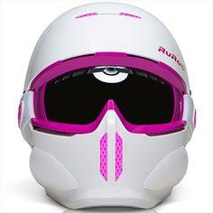 Ruroc RG-1 Full Face Snowboard/Ski Helmet, Kids, Spirit