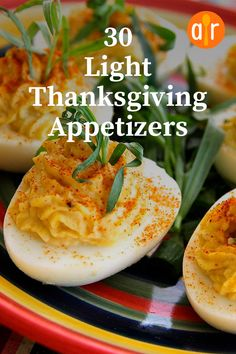 20 Light Thanksgiving Appetizers To Munch On Before The Main Event