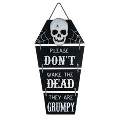 The Holiday Aisle Wood Black Halloween Coffin Wall Decor Halloween Coffin, Halloween Scene, Halloween Home Decor, Halloween Season, Halloween House, Fall Halloween, Halloween Projects, Halloween Stuff, Diy Halloween Signs