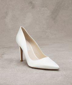 Gina Zapato de novia de piel