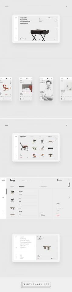 furnita — web on Behance - created on Modern Web Design, Web Ui Design, Grid Design, Clean Design, Ecommerce Website Design, Homepage Design, Web Grid, Cv Web, Tablet Ui