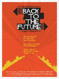Back to the Future Poster Series on the Behance Network