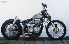 motographite: HONDA CB 750 CHOPPER by KERON GRANT