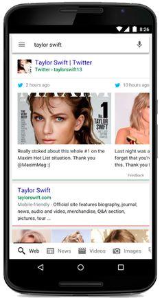 #Google e #Twitter anunciam parceria para mostrar tweets nas buscas em celulares