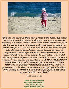 Definición de hijo, de José Saramago.