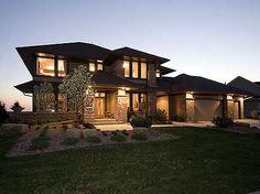Plan W14469RK: Premium Collection, Contemporary, Photo Gallery, Northwest, Prairie Style, Luxury House Plans & Home Designs: