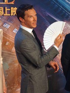 DOCTOR STRANGE ~ Benedict Cumberbatch. Shanghai, China premiere. October 16, 2016.