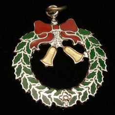 Silver Christmas Charm