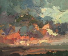 north-sea-sunrise-oil-on-board-10inches-x-12inches