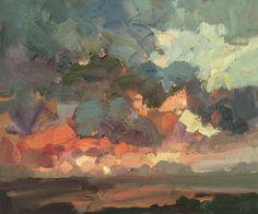 north-sea-sunrise-oil-on-board-10inches-x-12inches