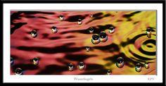 Wasser Kugeln Rot Gelb