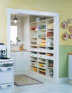 12 ides de garde manger de cuisine plusieurs rangements open pantrywalk