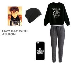 Lazy Day with Ashton by analis-briseno on Polyvore featuring polyvore fashion style Object Collectors Item Casetify clothing