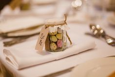 Gorgeous wedding favours. Alice in Wonderland themed. Eat me! Mini eggs.