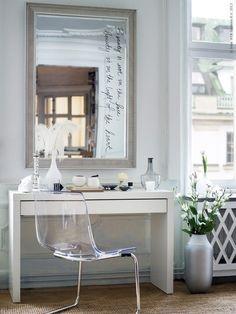 Penteadeira improvisada: Como montar uma penteadeira - Makeshift dressing table: How to make a dressing table