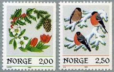 ノルウェー1985年クリスマス2種
