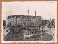 Hannover-Linden, Küchengarten mit Naziffahnen