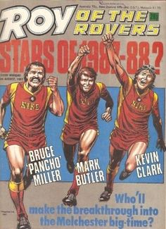 Roy of the Rovers History Page, Comic Covers, Comic Character, My Childhood, British, Characters, Football, Comics, Party