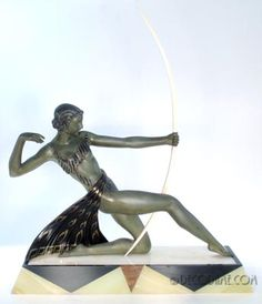 "French Art Deco~""Diana the Huntress"""