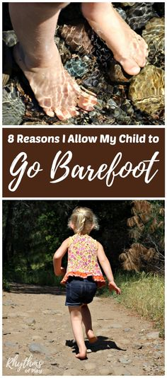 Barefoot health benefits for kids - The feet and sensory systems can develop properly when a child is allowed to go barefoot. Find out all of the amazing health and safety benefits of going barefoot while playing outside! Parenting Tips Kids And Parenting, Parenting Hacks, Practical Parenting, Natural Parenting, Parenting Styles, Health Benefits Of Walking, Sensory System, Kids Fever, Going Barefoot