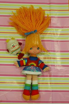 Rainbow Brite And for the record it annoyed me to no end that you couldn't fix her hair.