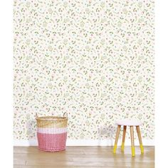 Kids Wallpaper, Fabric Wallpaper, Rainbow House, Small Furniture, Home Free, Children's Place, Decoration, Paper Flowers, Room