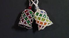 DIY Beaded Bells- A Twelve Ornament Challenge Piece