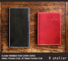 R.atelier Hobonichi Leather Covers are handcrafted using premium vegetable tanned cowhide and unlined to make the most of its natural beauty. #HobonichiTecho #leathercover #leatherjournal #leathergifts #hobonichicover #journaling #journallove #planner #plannerlove #planneraddict #giftsforher #giftsforhim #ほぼ日手帳
