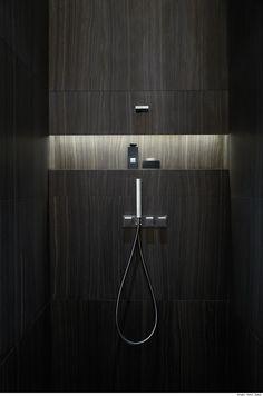 Armani Casa shower.