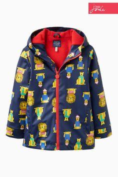 Buy Little Joule Navy Lion Raincoat from the Next UK online shop