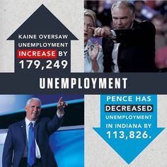 We need JOBS in America! Numbers don't lie! VOTE TRUMP for job creation they have a fantastic track record!