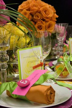 Cool rehearsal dinner ideas