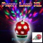 DJ LED Disco Party Lamp XL - Λάμπα LED Μεγάλου μεγέθους για Πάρτυ