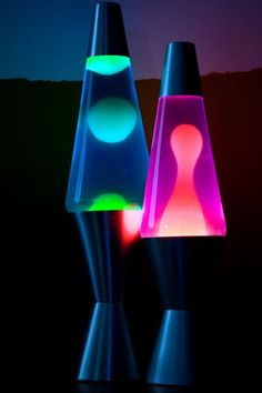 lava lamps..... My 21st birthday present. It saw me through my uni days