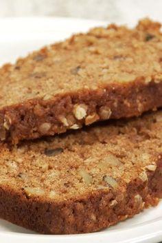 Applesauce Oatmeal Bread Recipe Quick Bread Recipes, Apple Recipes, Cake Recipes, Loaf Recipes, Fruit Recipes, Bread Cake, Dessert Bread, Bread Recipe King Arthur, Gourmet